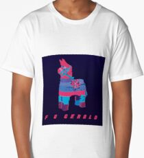 F U GERALD Psychedelic Long T-Shirt
