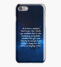 third star iPhone Case/Skin