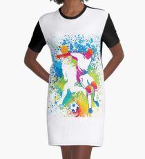 Teamplayer 7 Graphic T-Shirt Dress
