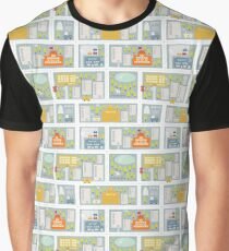 Winter in the city. Graphic T-Shirt