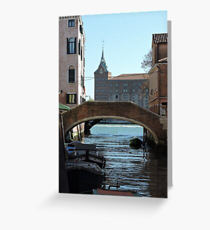 Venetian Bridge 080417 Greeting Card