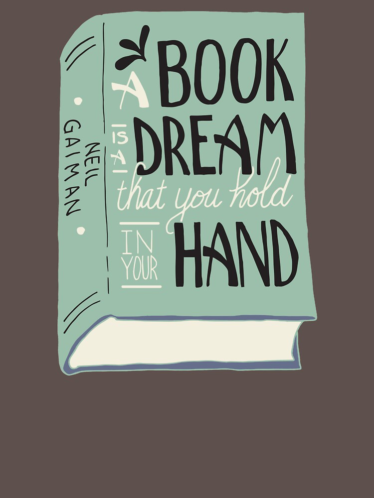A Book is a Dream That You Hold in Your Hand -- Neil Gaiman (Color) by TRakestraw