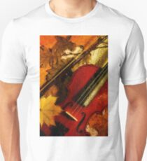 4 seasons. Autumn. Vertical T-Shirt