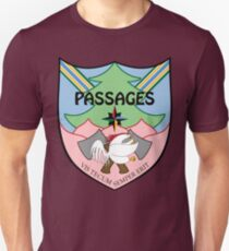 """Passages Through Time Coat of Arms by Kira """"Karma"""" Atwood-Youngstrom T-Shirt"""
