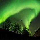 Northern lights - Aurora Borealis Arc by Vlavo