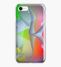 brainwave, colorful fantasy picture iPhone Case/Skin