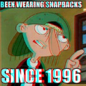 Snapback since 1996 by Lovecartoons121
