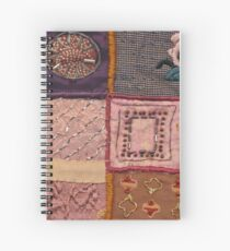 PATCHWORK #pearls #decoration Spiral Notebook
