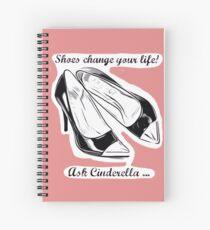 Cuaderno de espiral Pregunta a Cinderella