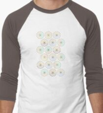 Geometric shapes of lines rays forming a circle T-Shirt