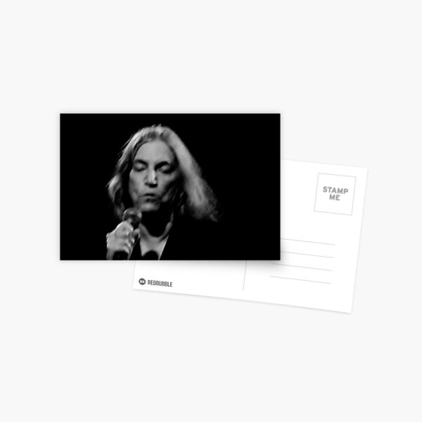 Patti Smith Postcard