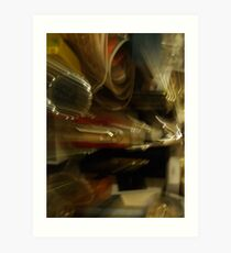 Motion Series XXV Art Print