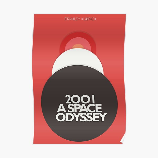 2001 a Space Odyssey, Stanley Kubrick, movie poster, fantasy, space, film, sci-fi Poster