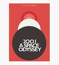 2001 a Space Odyssey, Stanley Kubrick, movie poster, fantasy, space, film, sci-fi Photographic Print
