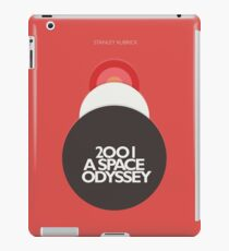 2001 a Space Odyssey, Stanley Kubrick, movie poster, fantasy, space, film, sci-fi iPad Case/Skin