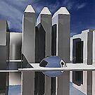 CUBIC-METALLIC-REFLECTION by Jason Byrne (jB)