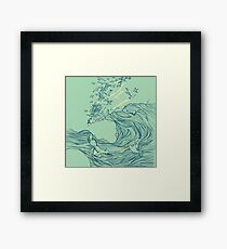 Ocean Breath  Framed Print