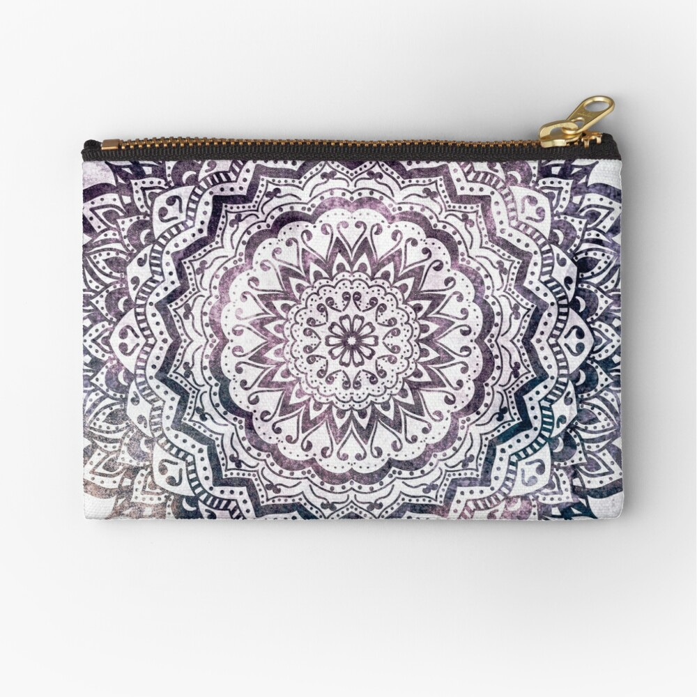 JEWEL MANDALA Zipper Pouch