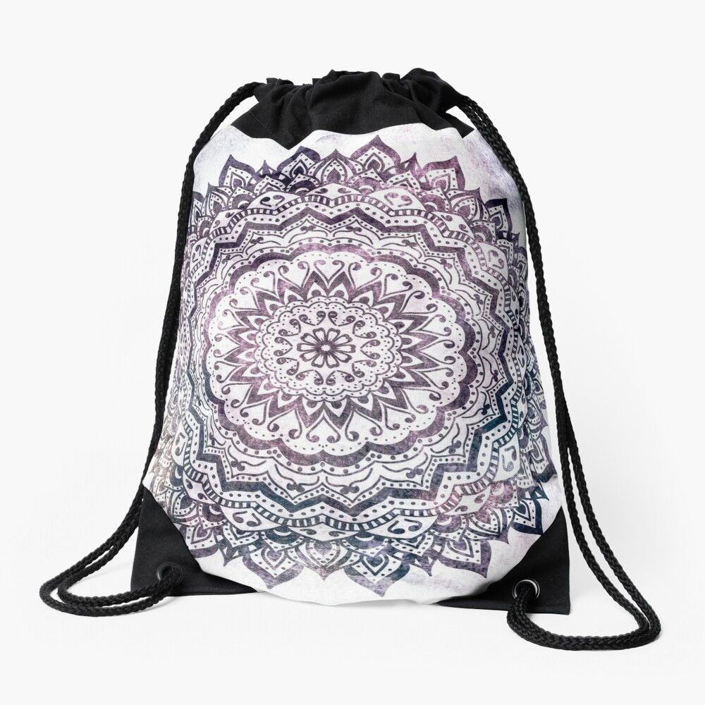 JEWEL MANDALA Drawstring Bag