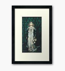 James Jebusa Shannon - Magnolia Framed Print