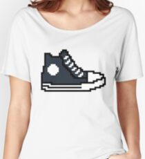 Fast and furious 8 bit shoe Ludacris / Tej Parker Women's Relaxed Fit T-Shirt