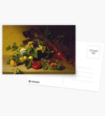 James Peale, Sr. - Still Life With Vegetables Postcards