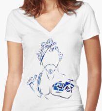 Assassin Women's Fitted V-Neck T-Shirt