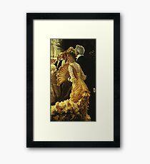 James Tissot  - The Ball Framed Print