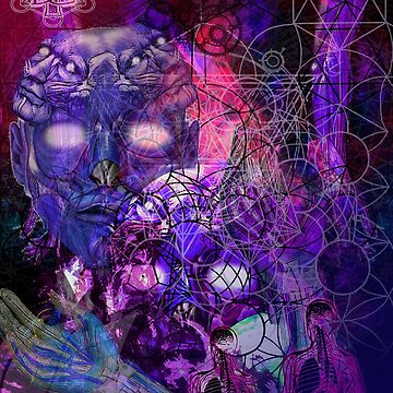Escape from Cosmic Geo Lotus by AlexanderFox