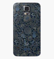 Dark Coral Garden Case/Skin for Samsung Galaxy