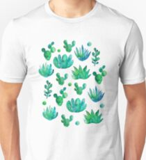 Watercolor Succulents Unisex T-Shirt