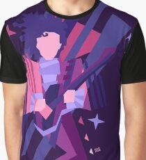 Purple Ghost Graphic T-Shirt