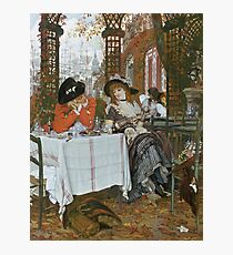James Tissot - A Luncheon Photographic Print