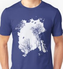 In the Forest - white option Unisex T-Shirt