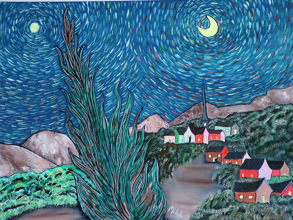 Starry night by mikeloughlin