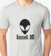 Alien Invasion, Roswell, New Mexico, NM 3 Unisex T-Shirt