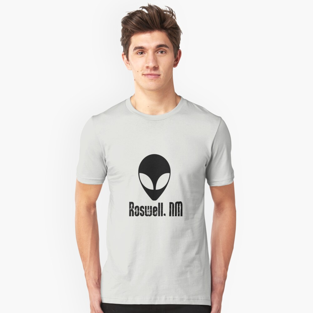 Alien Invasion, Roswell, New Mexico, NM 3 Unisex T-Shirt Front