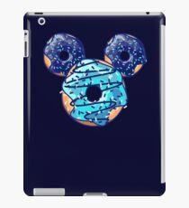 Pop Blue Donut iPad Case/Skin