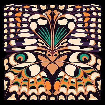 Lepi-Pop 01, a butterfly inspiration by pattypattern