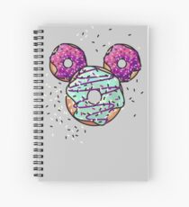 Pop Donut -  Berry Frosting Spiral Notebook