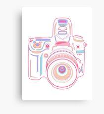 Cute Pastel Camera Canvas Print