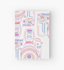 Cute Pastel Camera Hardcover Journal