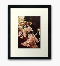 James Tissot - Political Woman Framed Print