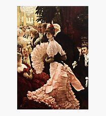 James Tissot - Political Woman Photographic Print