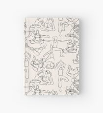 Yoga Manuscript Hardcover Journal