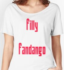 Filly Fandango Women's Relaxed Fit T-Shirt