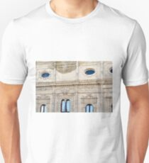 Classical building facade with marble decorations  Unisex T-Shirt