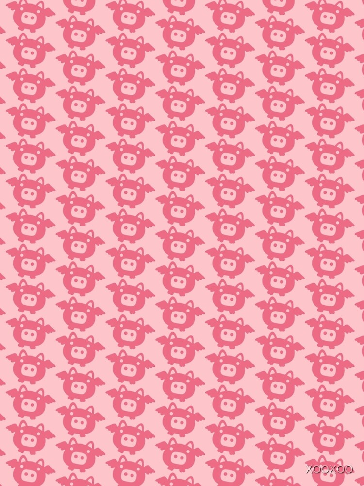 Flying Pink Pig de XOOXOO