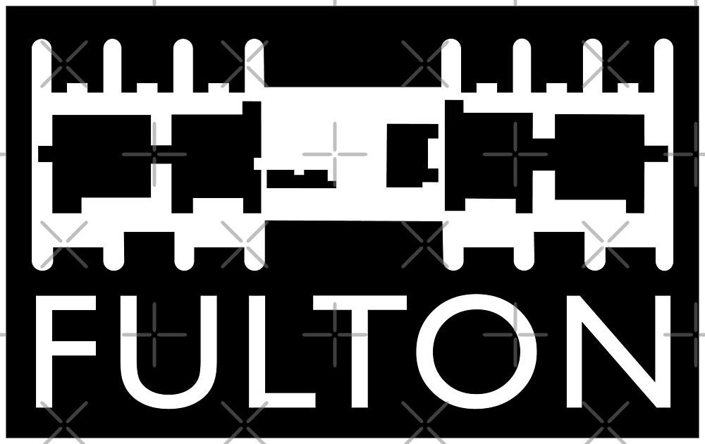 Fulton Block merchandise by Tez Watson