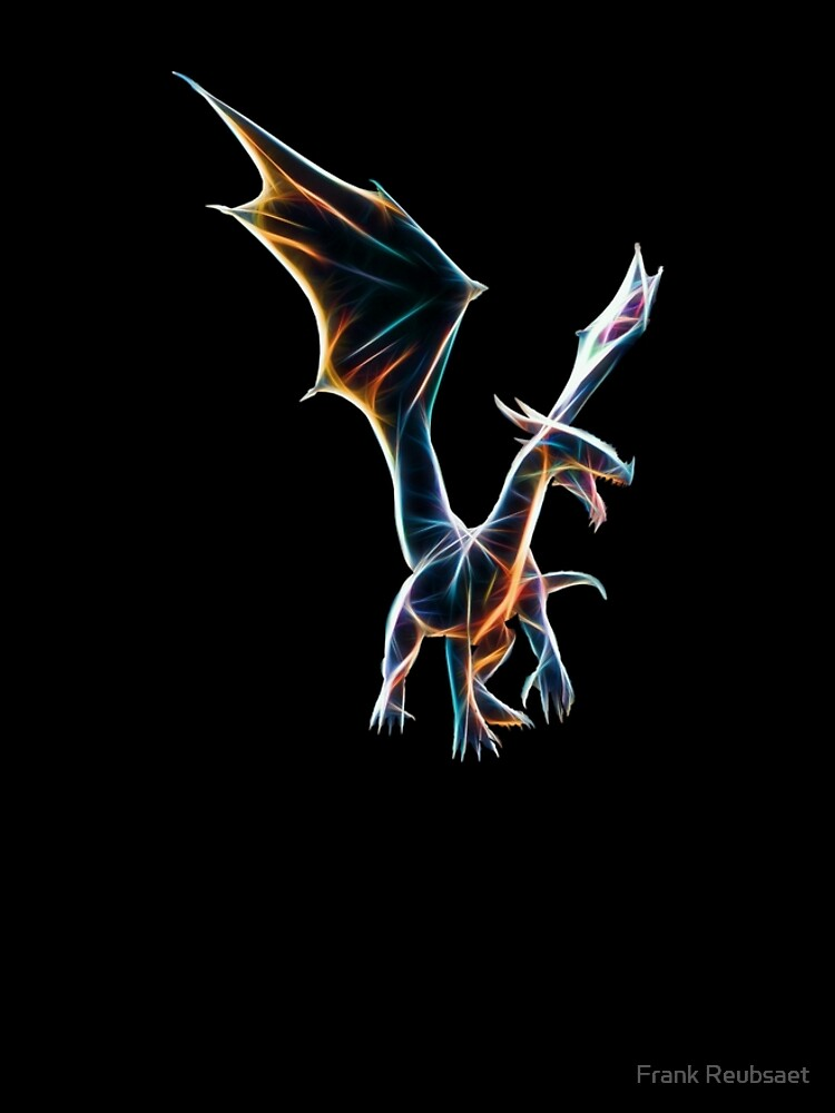 Dragon Neon Art von Reubsaet